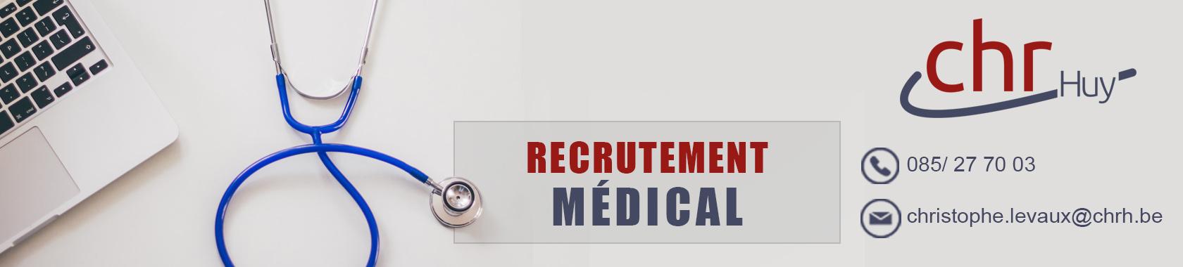 Recrutement médical